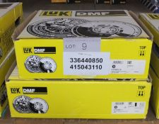 2x LUK Dual Mass Flywheels - Models - 415 0431 10 & 415 0134 11