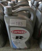 4x Carlube Triple R Mineral R-TEC 35 15W-40 Motor Oil - 5L