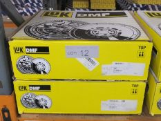 2x LUK Dual Mass Flywheels - Models - 415 0543 10 & 415 0225 10