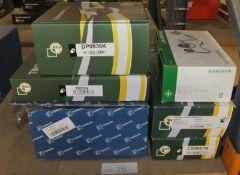 Pierburg Induction Manifold, BGA TC0235K Timing Chain Kit, BGA DP0936K Crankshaft Pulley,