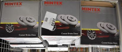 Mintex Coated Brake Disc Sets - Please see pictures for examples of model numbers