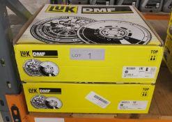 2x LUK Dual Mass Flywheels - Models - 415 0365 10 & 415 0574 10