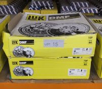 2x LUK Dual Mass Flywheels - Models - 415 0163 10 & 415 0136 10