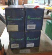 4x Fohrenbuhl Starter Motors - Models - FS2241, FS1029, FS2381, FS1023