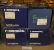4x Fohrenbuhl Alternators - Models - FA5083, FA5008, FA6278 & FA6399