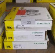3x LUK Schaeffler Repset Clutch Kits - Models - 624 3739 09, 641 7352 19 & 624 3930 09