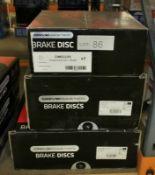 3x Drivemaster Brake Discs - Models - DMD225, DMD010 & DMD222