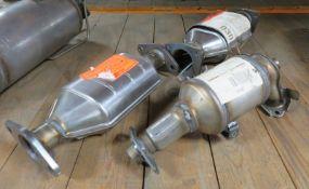 3x Catalytic Converters - BM91558H, BM90059 & BM90440