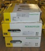 2x LUK Schaeffler Repset Pro (619 3154 33 & 625 3138 33) & 1x Repset (619 3089 00) Clutch