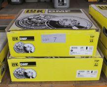 2x LUK Dual Mass Flywheels - Models - 415 0463 10 & 415 0264 10