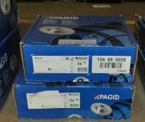 2x Pagid Brake Disc Sets - Models - 50254 & 0986479853