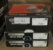 3x Drivemaster Brake Discs - Models - DMD193 & 2x DMD125