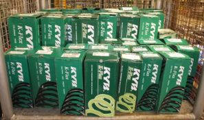 Various KYB K-Flex Coil Springs - Please see pictures for examples of model numbers