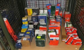 Various Spares - Oil Filters, Air Pump, Water Pump, Brake Shoes, Strut Mounting Kits, Clut