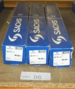 3x Sachs 280 379 009 Shock Absorbers