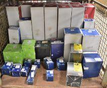 Various Spares - Shock Absorbers, Alternators, Starter Motors, Filters - Please see pictur