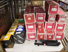 Various Spares - Shock Absorbers, Brake Calipers, Starter Motor - Please see pictures for
