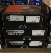 3x Drivemaster Brake Discs - Models - DMD188, DMD106, DMD132
