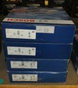 4x Bosch Brake Discs - Models - 2x 0 986 479 578 & 2x 0 986 479 729