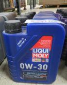 5x Liqui Moly 0W-30 Fully Synthetic Motor Oil - 1L
