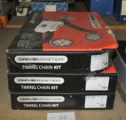 3x Drivemaster Timing Chain Kits - Models - 720 023 281, 720 073 281 & 720 063 281