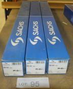 3x Sachs 290 043 009 Shock Absorbers