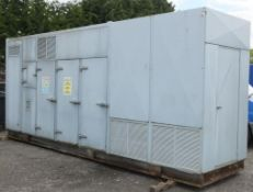 CHP Unit no. 302063, 122kWe, commissioned 2010 currently with 30000 hours approx - HIAB LIFT REQ.