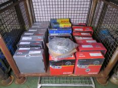 Vehicle parts - Mintex, Bosch, Pagid - see pictures for models and types