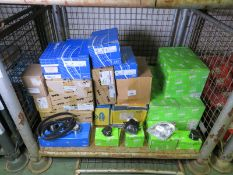 Vehicle parts - Macht, SKF, Valeo. Magneti Marelli, TYC - see pictures for models and type