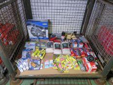 Car part consumables - wheel hub, air freshners, exhaust repair bandages, sponges, silicon