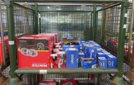 Brake Discs & Pads - Mintex, Eicher, Pagid - see pictures for models and types