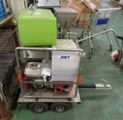 ANT WAS 450 B 3 2 SWP Mini Mace Cutting Unit On A Trailer - tyres in need of repair
