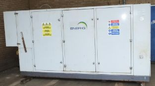 ENER-G combined heat and power unit CHP Unit no. 302307 110kWe Natural gas Commissioned 20