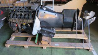 Verado 300XL L6 outboard engine - model 1300V23ED - serial 1B767606 - HP 300 - kW 221 - 679lbs/308kg