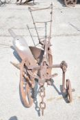 RANSOMES SIMMS & JEFFERIES, SINGLE FURROW HORSE PLOUGH LC2