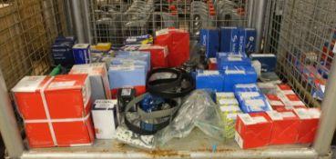 Various Car Parts - Wheel bearing kits, timing kits, ignition lead sets, timing sensors