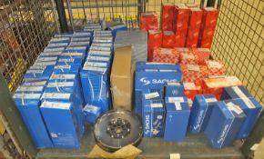 Various car parts - Sachs concentric slave, Bilstein CV boot & strut mountings,