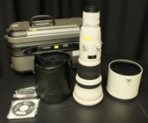 Canon lens EF 800mm - 1:5.6 L IS USM - Image stabilizer - ultrasonic - serial 18325