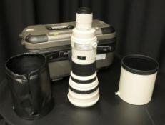 Canon lens EF 600mm - 1:4 L IS USM - Image stabilizer - ultrasonic - serial 18326
