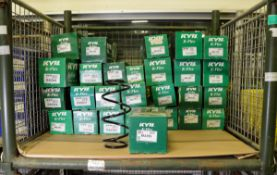 Vehicle parts - KYB K-flex coil springs - see pictures for models and types