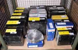 Vehicle parts - Bosch, Mintex, Drivemaster brake discs - see pictures for models and types
