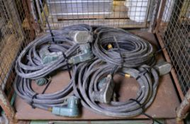 12v Battery Slave Starter Cables x6
