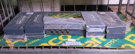 10x MTR PPS-48 4 channel 48V phantom power supplies