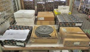 Vehicle parts - various clutch kits - see picture for itinerary for model numbers and quan