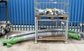 8x Coupling Attachments - 90 Degree Bend & Straight, 3x Pressurized Piping with M&F Connec