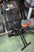 Viavito Onyx fold up exercise bike