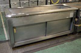 Bain Marie Showcase & Hot Cupboard L 700mm x W 1900mm x H 900mm