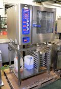 Eloma Multimax B6-11 Stainless steel CombiOven with stand L 930mm x W 850mm x H 1700mm