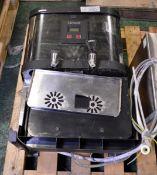 Lincat EB6TF ST/ST Water Boiler Twin Dispenser
