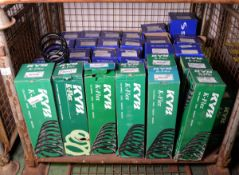 Vehicle parts - Sachs / KYB K-flex coil springs - see pictures for models and types